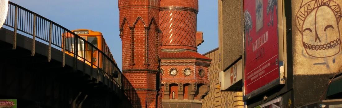 Berlin 10997 - Schlesisches Tor, Oberbaumbrücke - 140205-014
